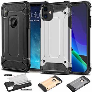 Outdoor Hülle für iPhone 12 11 XS 8 7 6 5 Case Handy Schutz Cover Robuste Schale