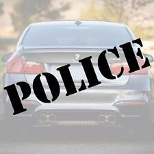 POLICE Schriftzug Aufkleber 60cm Schrift + Farbe frei Wählbar!!! Polizei decal