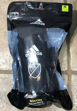 Youth Mls Sock Guard - Black - Adidas Size M ~ Mls Young Pro