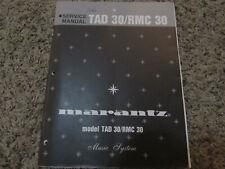 New listing Marantz Tad30 Rmc30 Music System Original Service Repair Manual
