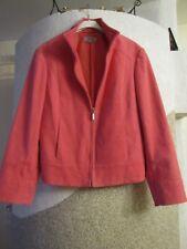 Gr. 40 designer Damen Jacke Blazer Pink von  Marks&Spencer UK 14 Maße beachten