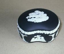 Wedgwood Jasperware Black Aurora Bean Box