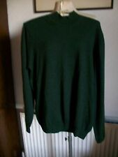 Extra Fine Italian Merino Wool Long Sleeve Jumper, Large, Sebastian Cooper,BNWOT