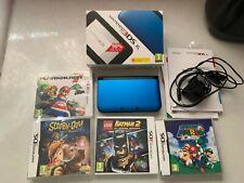 Nintendo 3ds XL Blue with Games Bundle