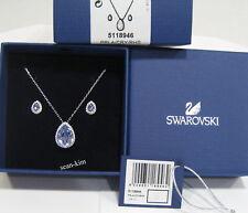 5118946 Swarovski Christie Set, Pendant/Earrings Lavender Color Crystal MIB