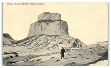 Early 1900s Dome Rock, North Platte Valley, Scottsbluff, NE Postcard