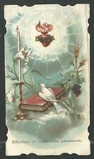 Holy card antique del Sagrado Corazon de Jesus santino image pieuse estampa