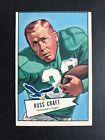 1952 Bowman Large Football Cards 42
