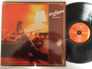 Eric Clapton: Backless - 1978 -  LP - 33 tours - Gatefold