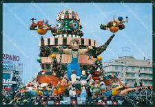 Lucca Viareggio Carnevale Foto FG cartolina ZK1361