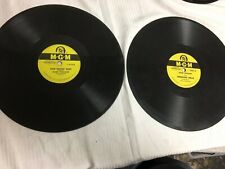 MGM RECORDS 78 RPM HANK WILLIAMS YOUR CHEATIN HEART AND WEDDING BELLS
