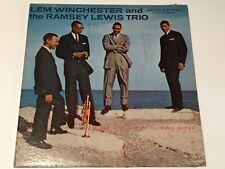 """LEM WINCHESTER & RAMSEY LEWIS, """"Tribute To Clifford Brown,"""" LP 642, DG, 1958."""