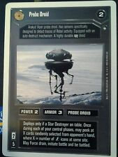 Star Wars CCG Hoth WB Unlimited  Probe Droid  X2 NrMint-MINT SWCCG