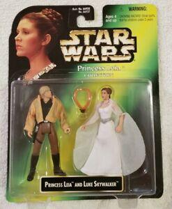 Star Wars Princess Leia Collection Princess Leia and Luke Skywalker Figures
