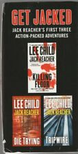 3 JACK REACHER pb: KILLING FLOOR-TRIPWIRE-DIE TRYING-Lee Child-Buy 3 Get 1 Free