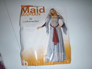 MAID MARIAN RENAISSANCE FAIRE MEDIEVAL ADULT WOMENS COSTUME Ancient Goddess Sexy
