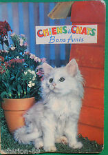ENFANTINA CHIENS ET CHATS BONS AMIS  1967 ALBUM HEMMA