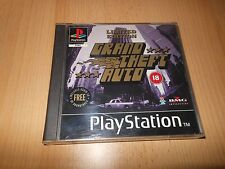 Grand Theft Auto - Limited Edition with Soundtrack PS1 MINT COLLECTORS