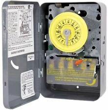 240V Electric Water Heater Timer Switch Double Pole Single Throw Steel Enclosure