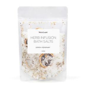 NESTLADY Lemon Rosemary Brightening Bath Salt 12.8oz