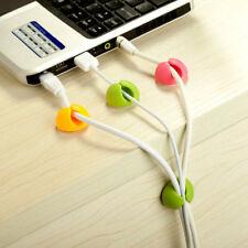 6 pcs Multipurpose Cable Organizer Drop Wire Cable Drop Clips Holder Organizer