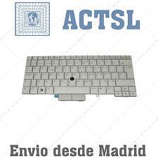 Keyboard Spanish for PC Tablet HP EliteBook 597841-071 SILVER
