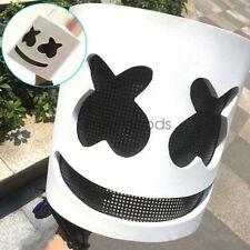 MarshMello DJ Mask Full Head Helmet Prom Party Cosplay Mask Bar Music Props Gift