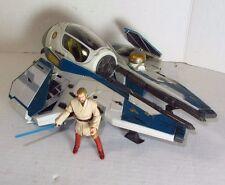 Hasbro Star Wars Obi Wan Kenobi's Starfighter ROTS  Utapau Vehicle w. Figure