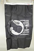 NOS Valley Forge POW/MIA Double Sided 2'x3' Perma-Nyl Flag Original Box