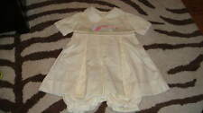 NWOT NEW PETIT AMI ELITE 6M 6 MONTHS YELLOW BUNNY EASTER DRESS OUTFIT