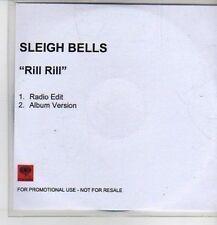 (CP906) Sleigh Bells, Rill Rill - 2011 DJ CD