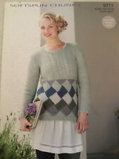 Sirdar Softspun Chunky, Knitting Pattern