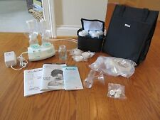 Ameda Purely Yours Electric Double Breast Pump w/Carrying Bag & Extras EUC