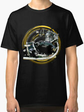Vincent Comet  Motorcycle engine Vintage urban T Shirt INISHED Productions