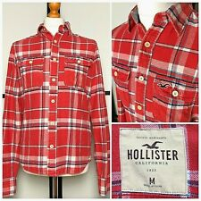 Hollister | Long Sleeve Surfer Cut Button Down Flannel Shirt | Mens Size Medium