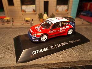 CM's Citroen Xsara WRC 2005 Japan 1/64