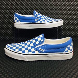 Vans Checkboard Slip On (Men's Size 10) Athletic Skate Casual Sneakers Shoes