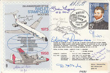 C25c 15th Anniv RAFLET Stamp Club Signed 8