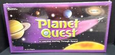 Planet Quest A Learning Journey Through Space Educational Board Game NEW SEALED!