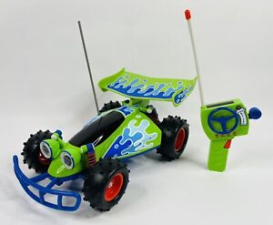 "Toy Story Signature Collection RC Remote Control Car Thinkway 14"" Vehicle WORKS!"