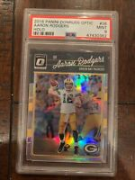 2016 Panini DONRUSS OPTIC HOLO AARON RODGERS #36 PSA 9  MINT, Green Bay PACKERS!