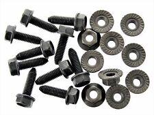 Chrysler Body Bolts & Flange Nuts- M6-1.0mm x 20mm Long- 10mm Hex- 20 pcs- #127