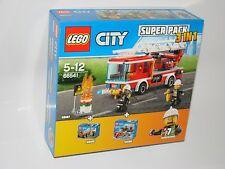 LEGO ® City 66541 City Fire value pack (60107 + 60106 + 60105) Neuf New En parfait état, dans sa boîte scellée