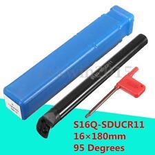16×180mm S16Q-SDUCR11 95 Degrees Internal Cutter For DCGT11T3 DCMT11T3 Insert