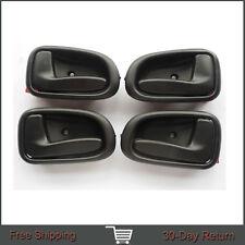 Fit 93-97 Toyota Corolla GEO Inside Interior Left Right Side Door Handle 1Set