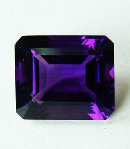 9.52ct!! NATURAL BRAZILIAN AMETHYST EXPERTLY FACETED IN GERMANY+CERT AVAILABLE