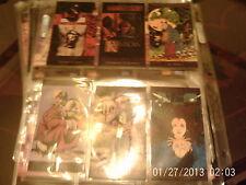DC comics vertigo trading cards x12 see list for details