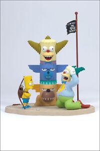 The Simpsons  - Kamp Krusty + Homer + Bart - Mcfarlane Figuren