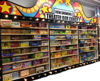 ONE BOX OF MOVIE THEATER CANDY (ASSORTED FLAVORS) A-L