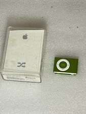 Apple iPod Shuffle 2nd Generation, 1Gb A1204 Green - Tested with box!